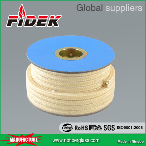 FD-P215  Aramid fiber PTFE packing