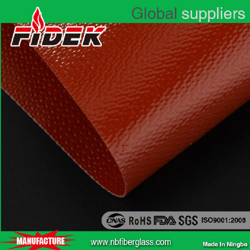 Double side fiberglass silicone rubber cloth