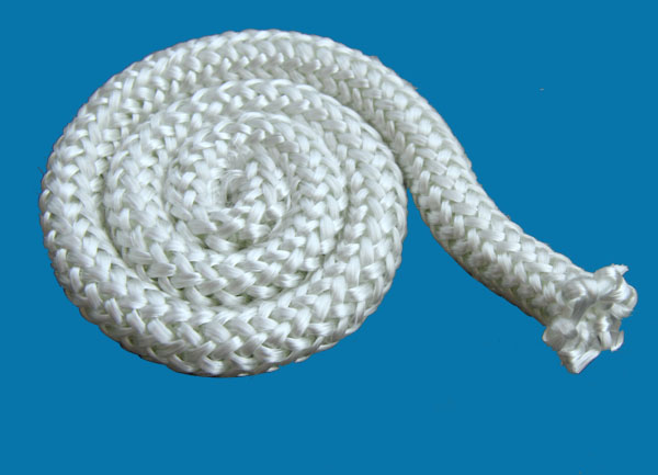 5-15mm diameter glass fiber knitted elastic rope made of expanded